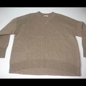 Tops - Women's Beige Tan Sweater Size Small Wool